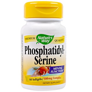 Nature's Way, Phosphatidylserine, 500 mg Complex, 60 Softgels