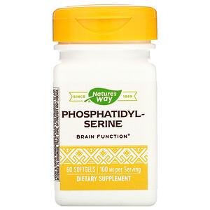 Натурес Вэй, Phosphatidylserine, 100 mg, 60 Softgels отзывы