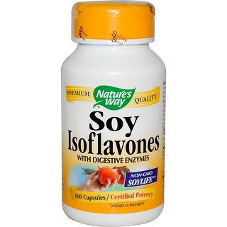 Nature's Way, Soy Isoflavones, 100 Capsules
