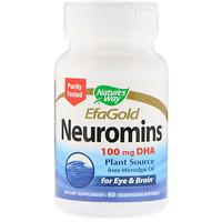 EFAGold, Нейромины, 60 растительных желатиновых капсул - фото