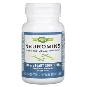 Натурес Вэй, Neuromins, 100 mg, 60 Veg Softgels отзывы