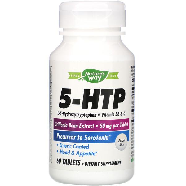 Nature's Way, 5 HTP, 60 Comprimidos