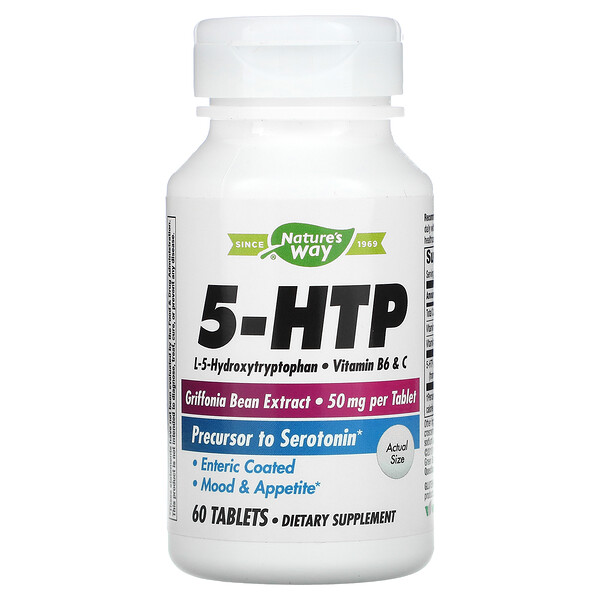 Nature's Way, 5-HTP, 60 Tablets