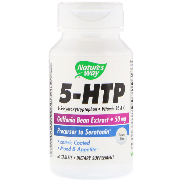 Nature's Way, 5-HTP, 60 tabletas