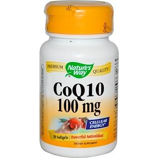 Nature's Way, CoQ10, 100 mg, 30 소프트젤