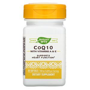 Натурес Вэй, CoQ10, 100 mg, 30 Softgels отзывы