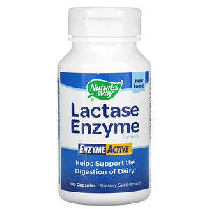 Натурес Вэй, Lactase Enzyme Formula, 100 Capsules отзывы покупателей