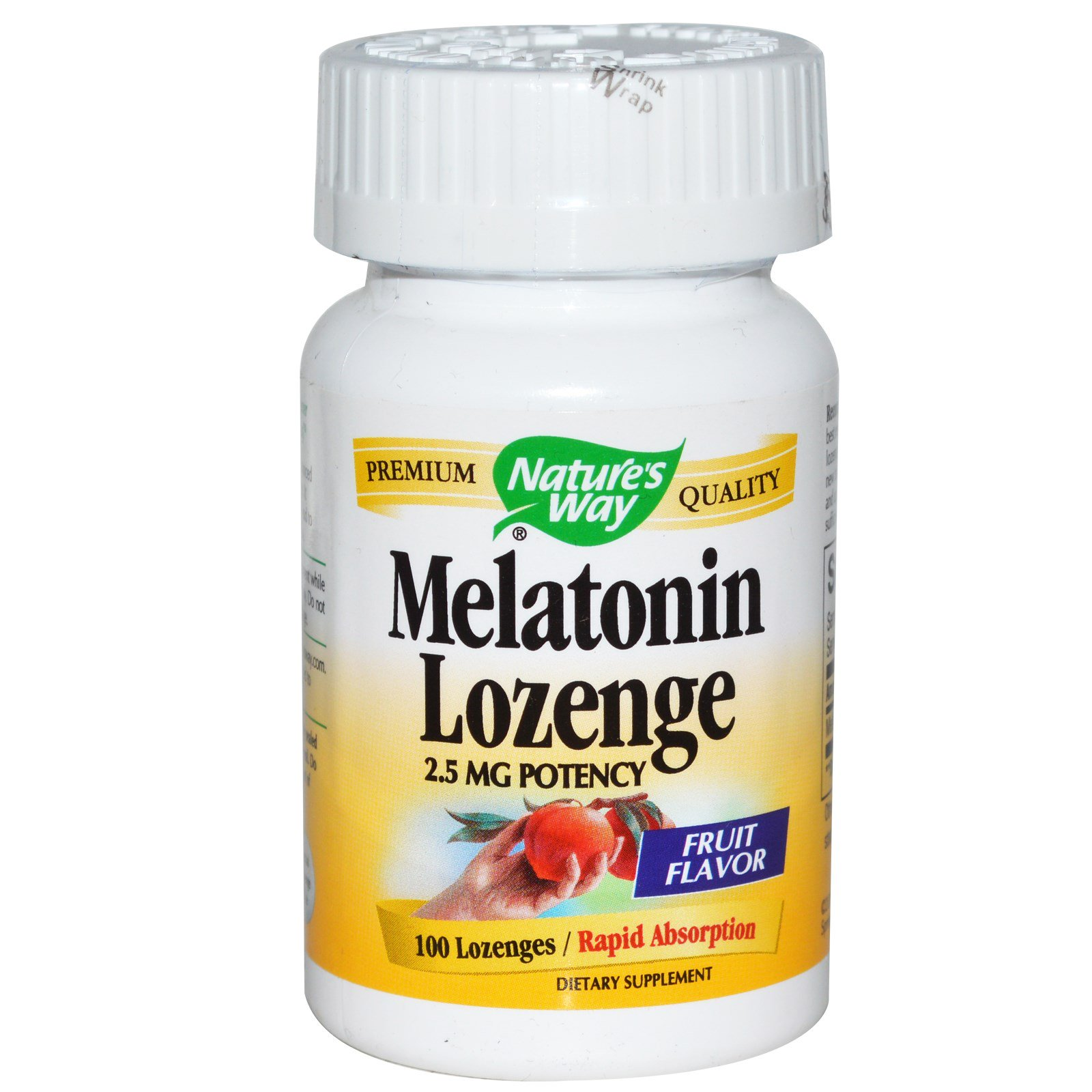 Nature S Way Melatonin Lozenge