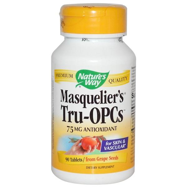 Nature's Way, Masquelier's Tru-OPCs、75 mg、90粒