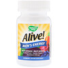 Nature's Way, Alive!, Men's Energy Multivitamin-Multimineral, 50 Tablets