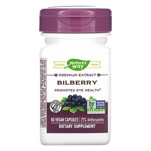Натурес Вэй, Bilberry, 60 Vegan Capsules отзывы покупателей