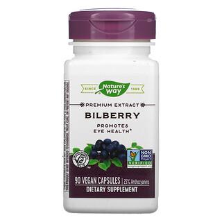 Nature's Way, Bilberry, 90 Vegan Capsules