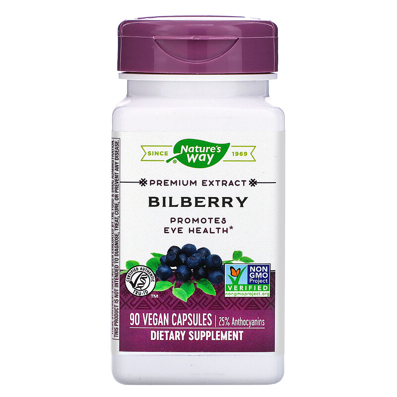 Bilberry, 90 Vegan Capsules
