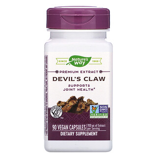 Nature's Way, Devil's Claw, 350 mg, 90 Vegan Capsules