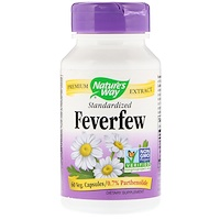 Feverfew, Standardized , 60 Veg. Capsules - фото