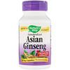 Nature's Way, Asian Ginseng, Standardized, 60 Veggie Caps