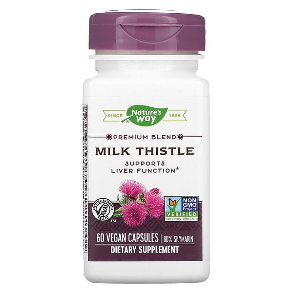 Premium Blend Milk Thistle, 60 Vegan Capsules