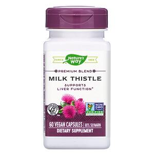 Натурес Вэй, Milk Thistle, 60 Vegan Capsules отзывы