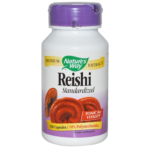 Nature's Way, Reishi Standardized, 100 Capsules