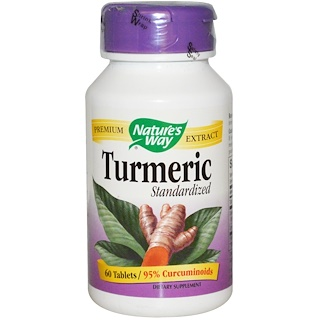 Nature's Way, Standardized Turmeric, 60 Tablets