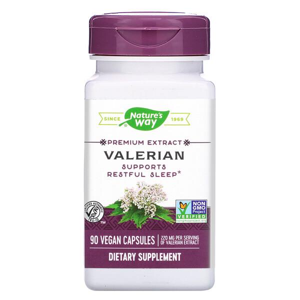 Valerian, 220 mg, 90 Vegan Capsules