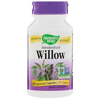 Nature's Way, Standardized Willow, 60 Vegetarian Capsules