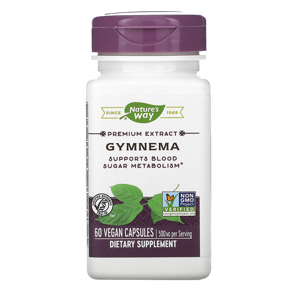 Gymnema, 500 mg, 60 Vegan Capsules