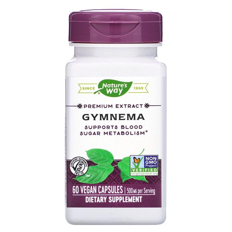Gymnema, 500 mg, 60 Vegan Capsules