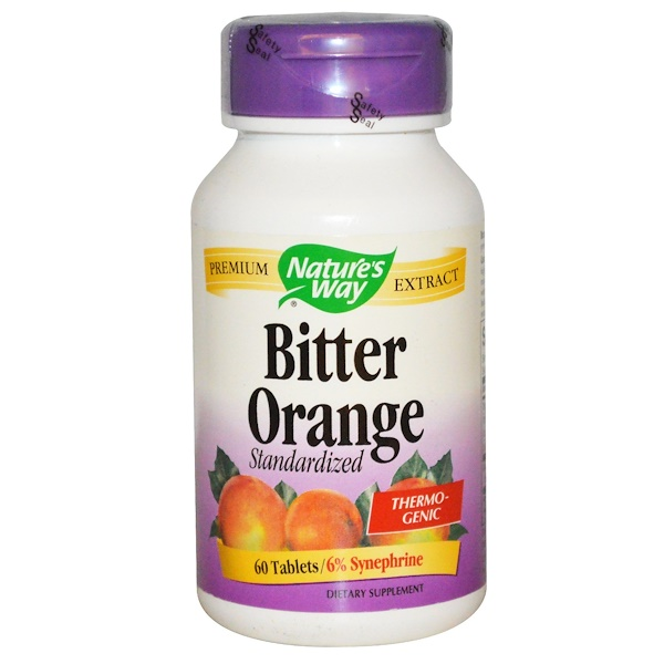Nature's Way, Bitter Orange, Standardized, 60 Tablets (Discontinued Item)