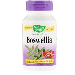 Nature's Way, Boswellia, Standardized, 60 Tablets