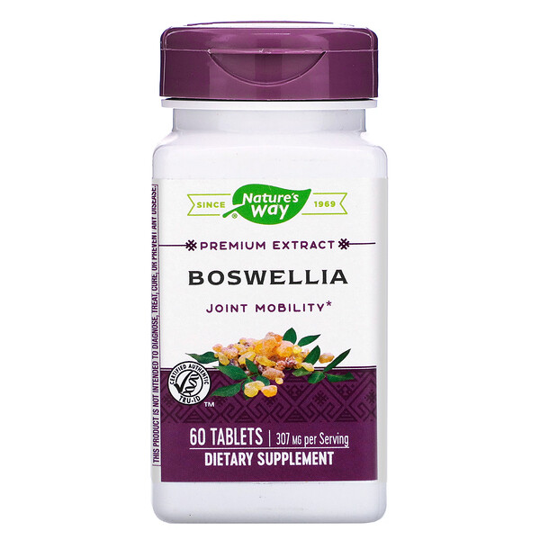 Boswellia, 307 mg, 60 Tablets