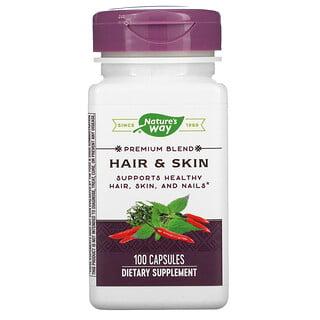 Nature's Way, Hair & Skin, 100 Capsules