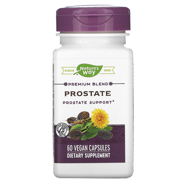 Nature's Way, Premium Blend, Prostate, 60 Vegan Capsules