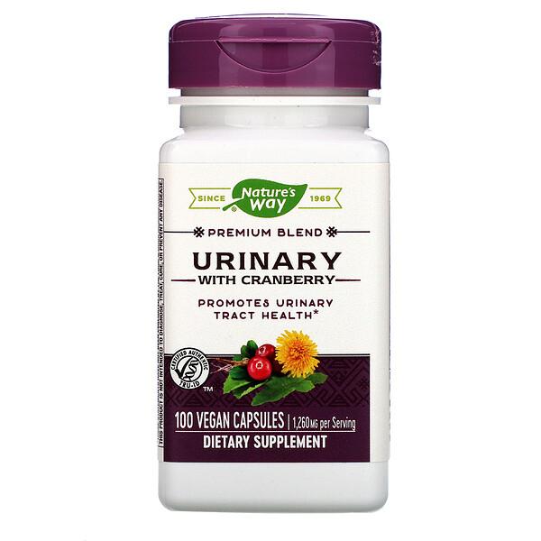 Nature's Way, Urinary with Cranberry, 1,260 mg, 100 Vegan Capsules