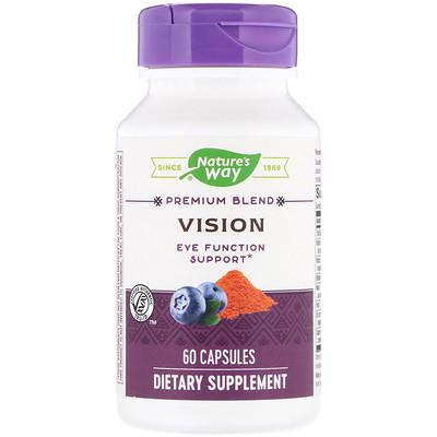 Купить Nature's Way Vision, Premium Blend, 60 Capsules