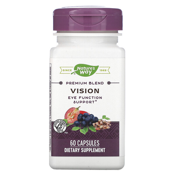 Nature's Way, Vision, 60 Capsules