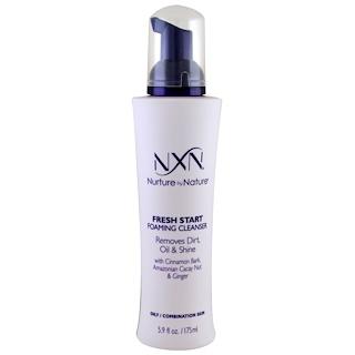 NXN, Nurture by Nature, Fresh Start Foaming Cleanser, Oily / Combination Skin, 5.9 fl oz (175 ml)