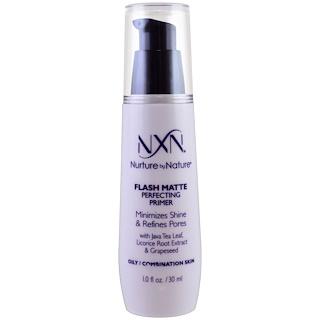 NXN, Nurture by Nature, Flash Matte Perfecting Primer, Oily / Combination Skin, 1 fl oz (30 ml)