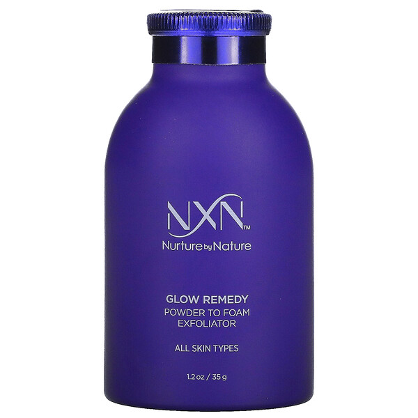 Glow Remedy, Powder To Foam Exfoliator, 1.2 fl oz (35 ml)