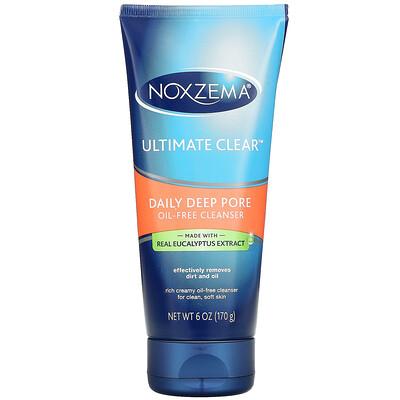 Купить Noxzema Ultimate Clear, Daily Deep Pore Oil-Free Cleanser, 6 oz (170 g)