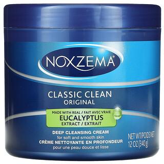 Noxzema, Classic Clean, Original Deep Cleansing Cream, Eucalyptus, 12 oz (340 g)