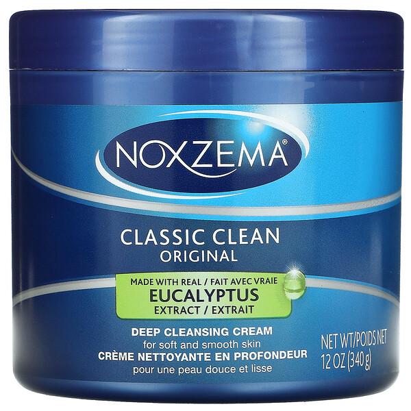 Classic Clean, Original Deep Cleansing Cream, Eucalyptus, 12 oz (340 g)