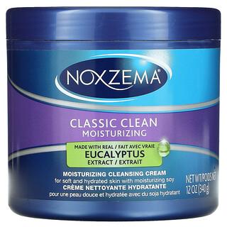 Noxzema, Classic Clean, Moisturizing Cleansing Cream, Eucalyptus, 12 oz (340 g)
