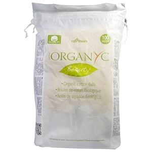 Ораганик, Organic Beauty Cotton Balls, 100 Pieces отзывы