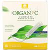 Organyc, Organic Tampons, Compact, Regular Absorbency, 16 Tampons