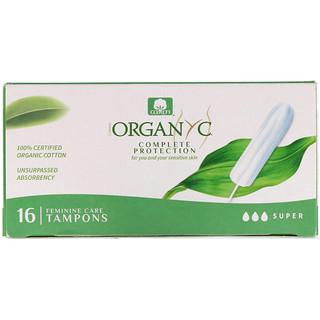 Organyc, Tampones orgánicos, 16 tampones de superabsorbencia