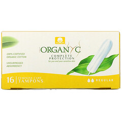Organyc, 有機衛生棉條,常規,16 條