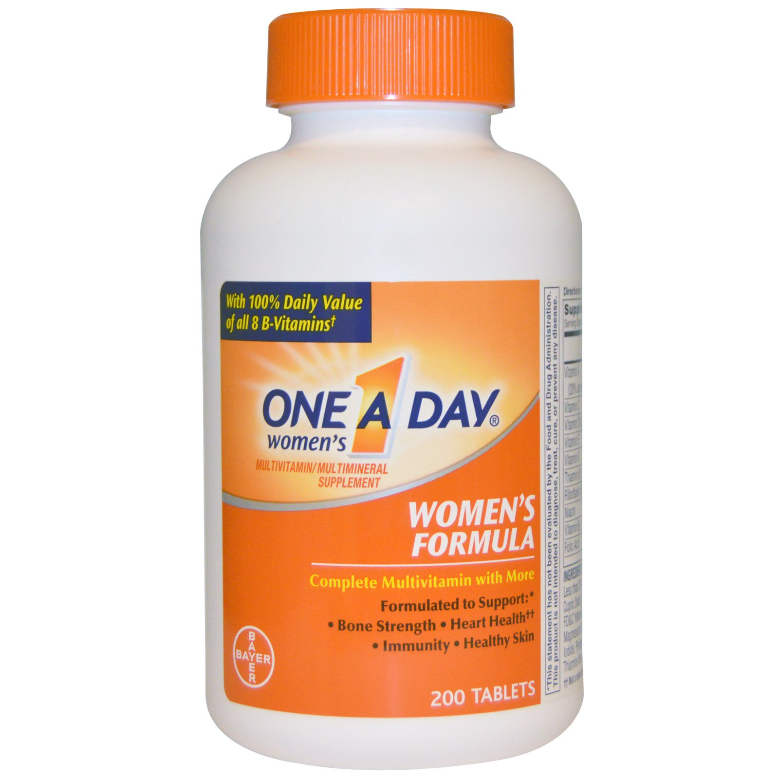 Women daily vitamin