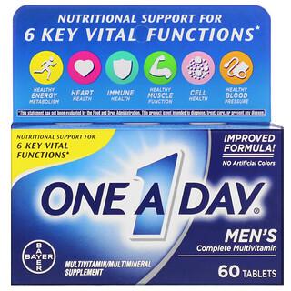 One-A-Day, Formule pour les hommes, Multivitamine complète, 60comprimés