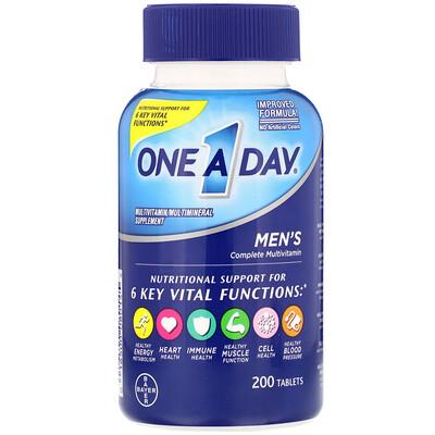 Mens Complete Multivitamin, 200 Tablets